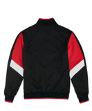 Reason Clothing Motorcross Track Jacket - Black/Red/White