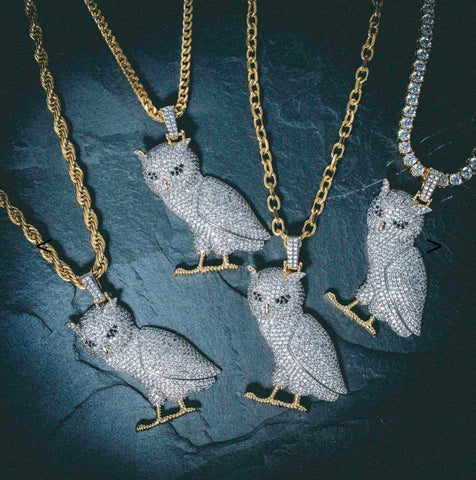 The Gld Shop Ice Owl