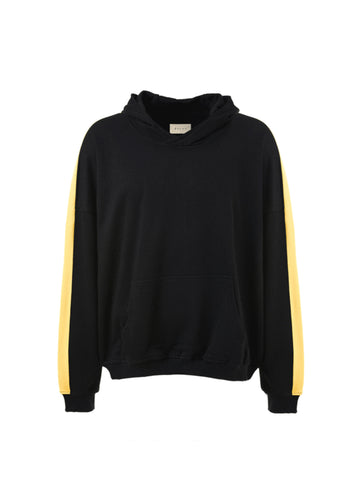 DSRCV Terry Retro Hoodie - Black/Yellow