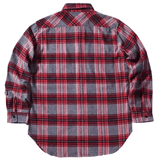 DSRCV Essential Flannel Shirt - Cherry