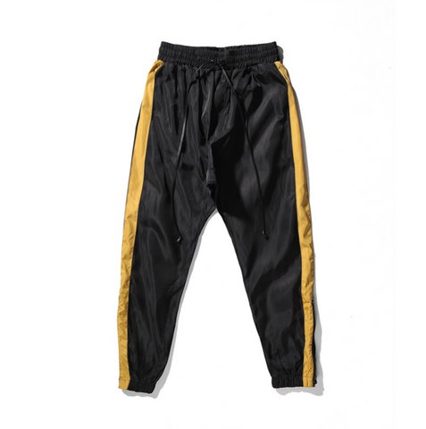 DSRCV Retro Sports Pants - Black/Gold