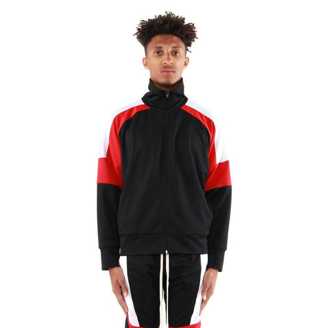 EPTM USA Color Block Track Jacket 2.0 - BRED