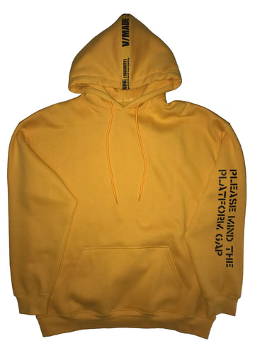 VMADE Official S1 Mind The Gap Hoodie - Yellow