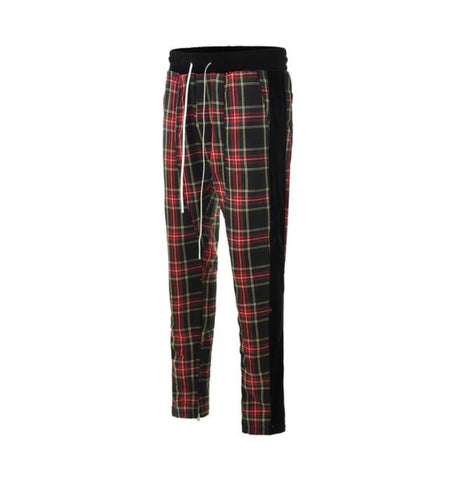 DSRCV Plaid Pants - Black