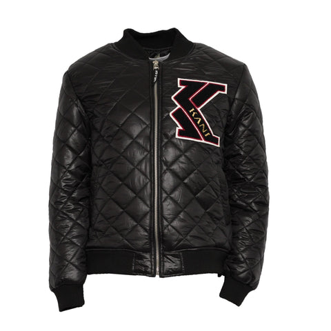 Karl Kani Comrades Quilted Jacket - Black