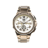 Meister Watches Ambassador SS Stainless Steel Watch - Champagne Gold