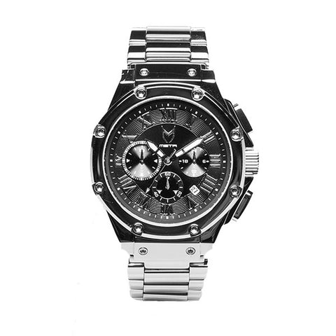 Meister Watches Ambassador SS Stainless Steel Watch - Polished Silver