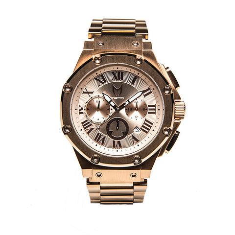 Meister Watches Ambassador SS Stainless Steel Watch - Rose Gold