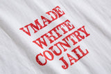VMADE Official Country Jail Longsleeve T-shirt - White