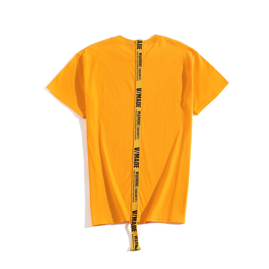 VMADE OFFICIAL Strap T-shirt - Yellow