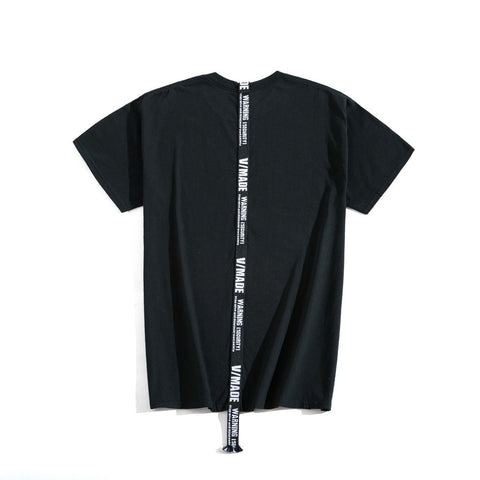 VMADE OFFICIAL Strap T-shirt - Black