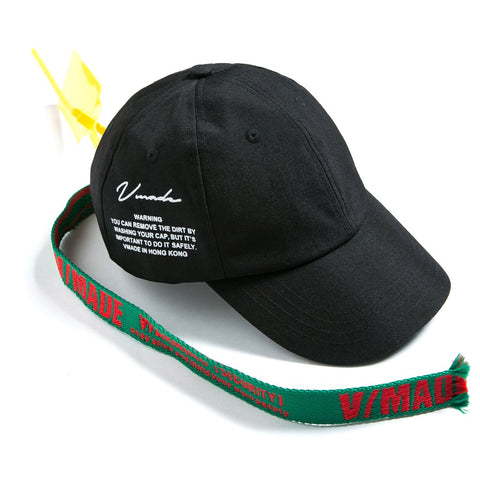 VMADE Cap - Black/Green