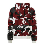 DSRCV Camo Hoodie - Red