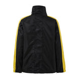 DSRCV Retro Sports Jacket - Black/Gold