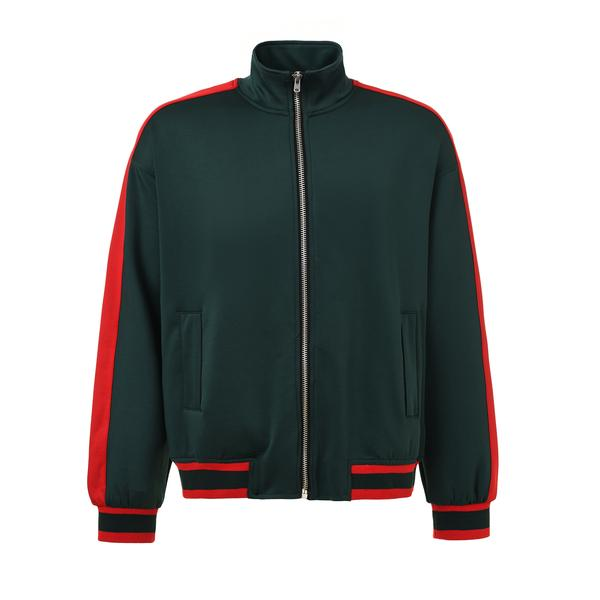 DSRCV Retro Jacket - Green/Red