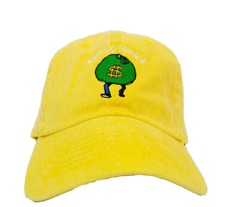 Fashion Vision Genius Phil Up Banks Strapback - Neon Yellow