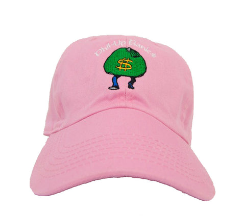 Fashion Vision Genius Phil Up Banks Strapback - Pink