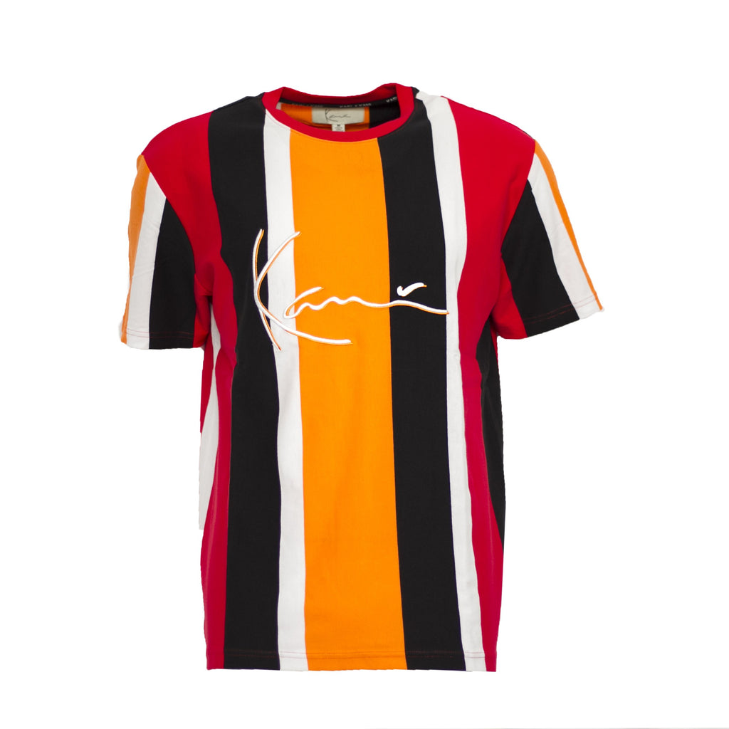 Karl Kani Gates Ave Rugby Tee - Orange