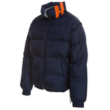 Karl Kani Legendary Kani Bubble Coat - Navy/Orange