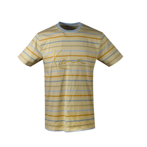 Karl Kani Kingston Ave Rugby Tee - Khaki