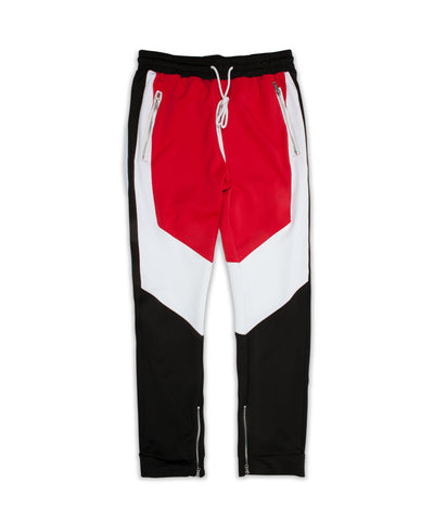 Reason Clothing Motorcross Track Joggers - Black/Red
