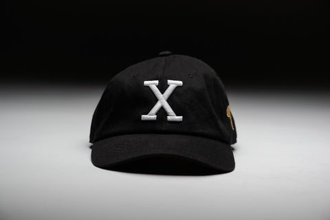 Sunset Vintage Flex X Retro Dad Hat - Black