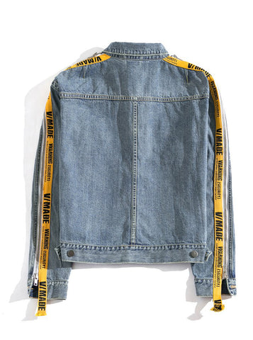 VMADE Official M1 Mens Denim Jacket - Blue