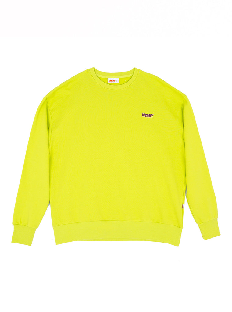 Nerdy NY Sweat Shirt - Green