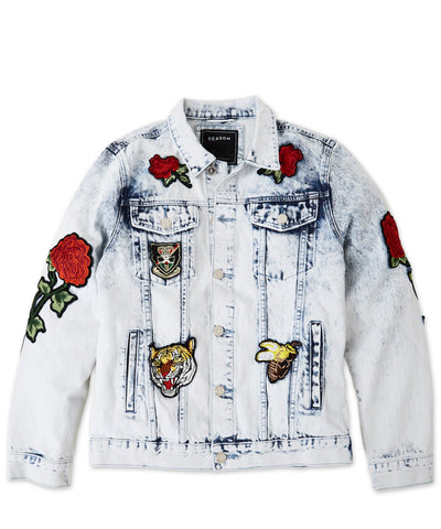Reason Clothing - Parkhill Denim Jacket