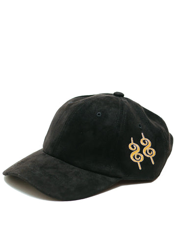 Sunset Vintage Flex Old Money Felt Cap - Black Suede