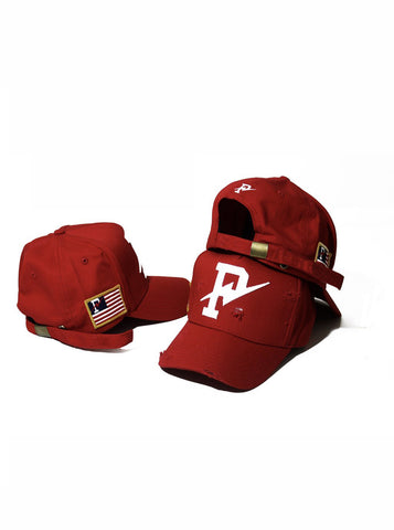 Phck Lifestyle Distressed Strapback - Red