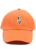 Weiv Los Angeles Ice Cream Strapback Cap - Orange