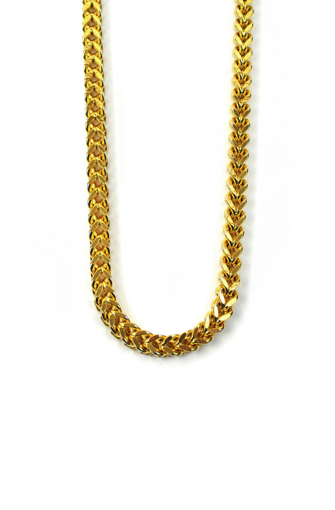 The Gold Gods Franco Box Chain - Gold