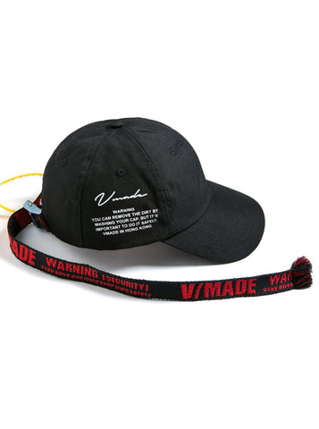 VMADE Cap - Black/Red