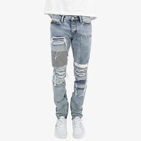 MNML Zipper Denim - Blue