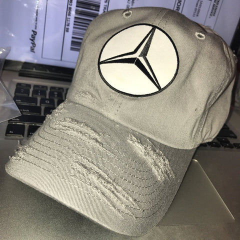Caps By Lee Benz Distressed Dad Hat - Select Colour Below