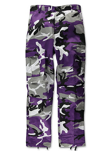 Rothco Brand Tactical BDU Pant - Ultra Violet Camo