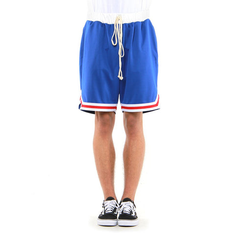 Eptm Blue/Red Basketball Shorts