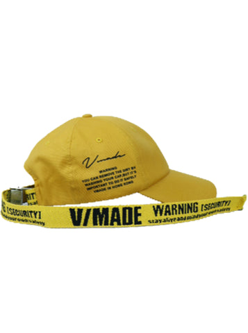 VMADE Official Adjustable Strapback Cap - Yellow