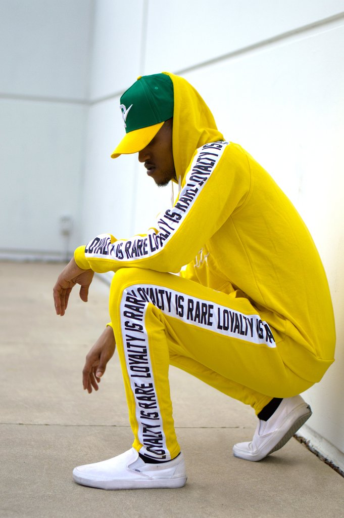 Phck Lifestyle Raised by Loyalty Sweat Suit - Yellow