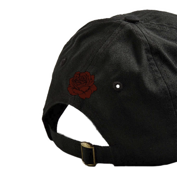 Black Rose Dad Hat
