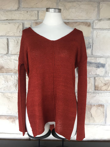 Burnt Orange Sweater