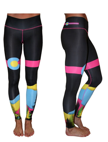 Colorado Threads Yoga Pants Retro