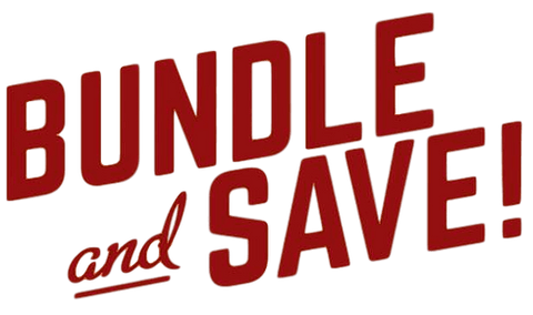 Bundle and Save Bold Lettering
