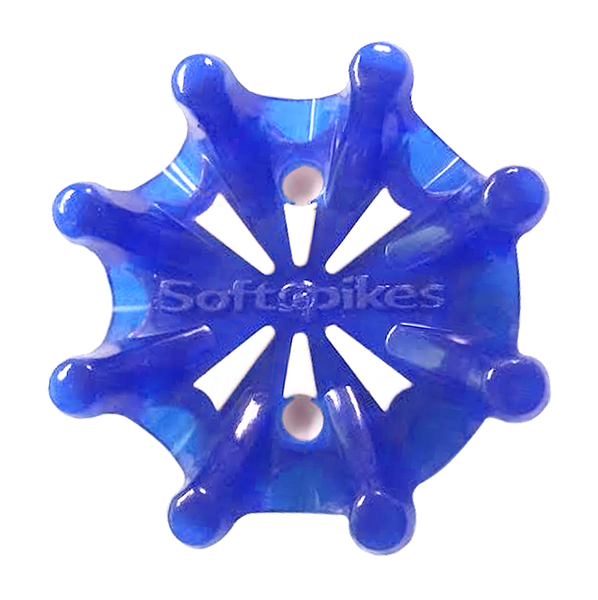 Softspikes Pulsar Golf Cleats (Tour Lock) | Azure/White
