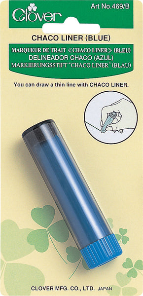 Clover Chaco liner (blue) - Quilteez Ltd