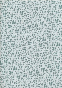 Fabric Freedom - Floral Shadow - Green Sprig FF10-3