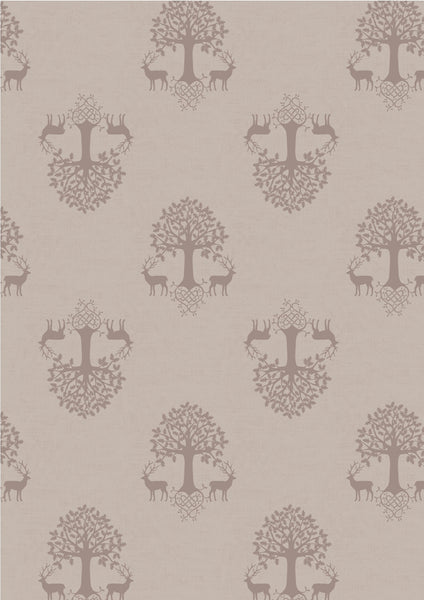 Lewis & Irene - Celtic Blessings - Tree of Life on Linen - A240.1 - Quilteez Ltd