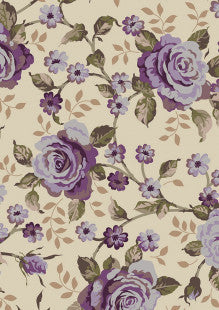 Ginger Lily Studio - Lincoln Lane - Large Rose Purple