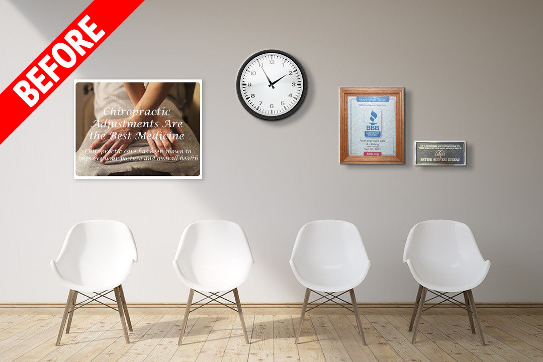Chiropractic Office Design and Waiting Room Posters